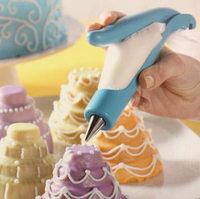2014  Practical Kitchen DIY Cake modelling pen Tool Decorating Tip Sets Dessert Decorators+Pastry bag+Decorating Tip+Converter