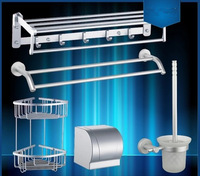 Bathroom hardware accessories copper stainless steel towel rack towel rack bundle set