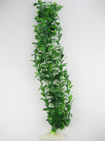 100X 45cm two-tone Artificial Aquarium Plastic Plants Ornament fish Decor EC88094