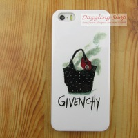 silicone TPU soft cell phone cover Skin for iphone 4 fashion handbag protective case 4s lovely girls cover case