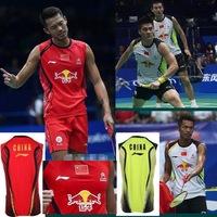 Wholesale!Free shippng  2013 Li-Ning Badminton men's LI NING National Team badminton LIN DAN badminton shir