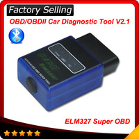 ELM327 V1.5 Mini Bluetooth ELM 327 OBDII OBD-II OBD2 Protocols Auto Diagnostic Scanner Free shipping