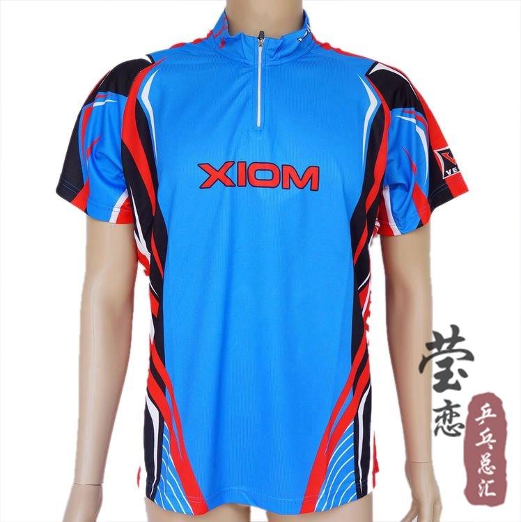 Free shipping Xiom vega table tennis ball uniforms jacket t-shirt w08121(China (Mainland))