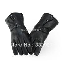 Winter Hot-selling men Gloves  leather gloves men's winter thermal motorcycle gloves ski gloves L XL XXL
