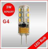 Fedex free shipping DC12V G4 3W LED Chip Beads For High Power Led Lamp Light Warm White Cool White Epileds Chip Beads Lighting