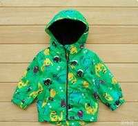 Topolino new 2013 children coat kids jacket boys outerwear child trench the autumn winter dinosaur carton retail Freeshipping