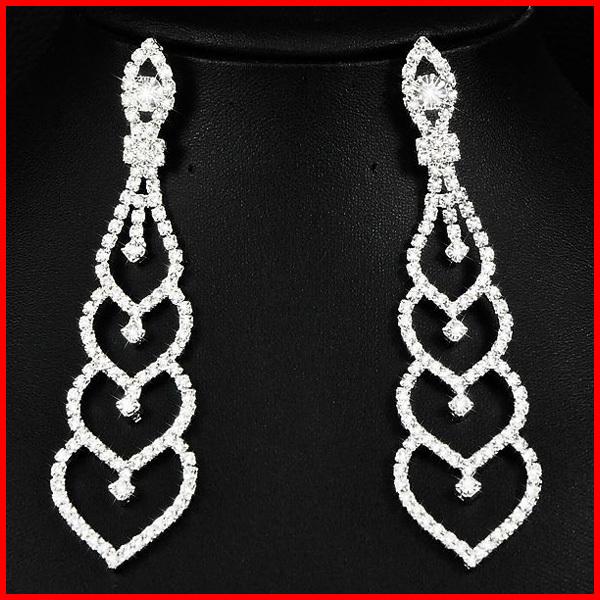 big fake diamond earrings - photo #28