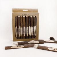 original ecology wooden pen cartoon original design zakka Creative personality restoring ancient ways ballpoint pen branch pen