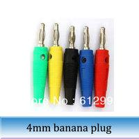 50pcs 4 mm hose banana jack socket connector banana plug