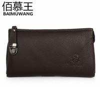 Free Shipping[2 Colors] 2013 new men's fashion leather handbag 1M002