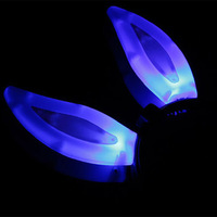 Niceglow issuing new luminous smile / LED horn hairpin luminous toys,toys,glow in the dark party supplies