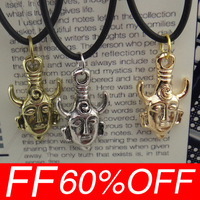 Free Shipping High Quality 1pcs/lot Supernatural Inspired Dean's Amulet Dean Winchester Pendant Necklace