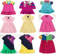 New, retails ,Free Shipping,girls clothes set,girls dresses,1pcs/lot --JYS357