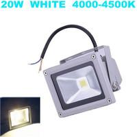 Hot sale ! 4pcs/lot Advertising street lamp Pure White Landscape lighting 85-265V 20W IP65 LED Flood Light
