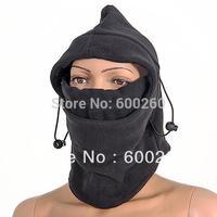 Fleece Mens scarf Hood Balaclava Neck Winter warmer Face Mask free shipping 5469
