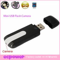 1280 x 960 Hidden Mini USB Flash Drive Cam Camera Nanny HD DVR Video Recorder 1 Set Free Shipping