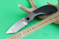 STRIDER Pocket Folding Knife D2 Sanding Blade G10 + TC4 Titanium Alloy High-grade Knives Best gife
