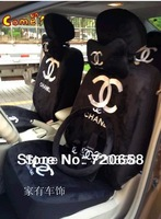 Brand New Luxury Fashion Warm Short Plush Car Seat Covers Universal Full Set 18PCS  Auto Cushion Hot Sale