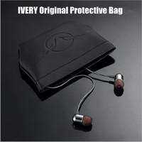 Gift Best Price  Earphones Headphones Protective Shockproof Bag Black Color In Stock