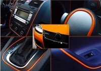 2014 NEW Products FREE SHIPPING ! Auto Car Interior Decoration moulding Trim Strip line(High quality 5 colors)