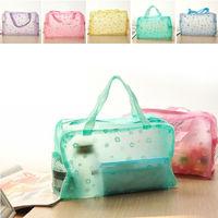Wholesale 5pcs Cosmetic storage box waterproof bag wash bag wash bag pouch 5 Colors Multi Functional Waterproof Cosmetic Bags
