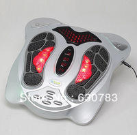 Free shipping Electric Silver/white Impulse TENS Circulation Booster Foot Massager
