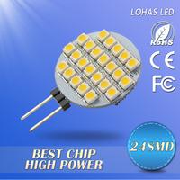 Suprising Price of Led Car Lamp 12V DC 24SMD LED Lamps 3528SMD led lightning warm/cool white free shipping