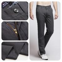 2014 Winter Superior Quality Luxury Business Casual Pants/Hot Sale Famous Brand Suit Pants Men/Hot & Sexy Men Black Dress Pants