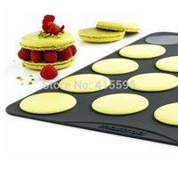 France Brand 100% Platinum Silicone Macaron Pastry Sheet Baking Tools Cake Mat Large + Free shipping