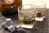 Whisky stones Ice Melts Cube Wine Colder Rock Whiskey Rock Stone Popular Summer Gift, 9pcs/set