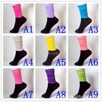 PROMOTION women's socks, 2014 FREE SHIPPING fashion solid socks women WHOLESALE 10pairs/lot