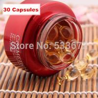 30PCS Egf Rose Capsule Liquid Long-lasting Moisturizing Whitening Mosmetic Pores Anti Aging