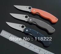 Spyderco C36GP2 Paratrooper Folding Blade Knife S30V Blade G10 Handles,Pocket Knife Hunting Knives Outdoor Camping Knife  ELAN