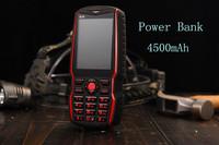 4500mAh Big Battery Power Bank Phone Original B36 2.4'' Dual Sim Card Long Standby Bluetooth ADMET B30 X6 Russian Keyboard
