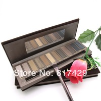 Hot sale 2014 new brand make up nk1 5A+ eye shadow palette Matte 12 original colors nake makeup eyeshadow  nk 1 pc free shipping