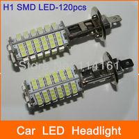 H1 Car LED Fog Lights Car Lamp SMD 3528 Parking Auto Car HeadLight LED Bulb - 2pcs/lot