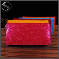 New Arrival Women Wallet Fashion Women Patent Leather Purse Female Fashion Long Wallet Purse Clutch Bag Drop Shipping
