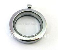 5pcs 30mm  Magnetic floating locket Round shape floating charm locket Free shipping