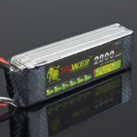 Lion Power 11.1V 2800MAH 30C MAX 35C AKKU LiPo RC Battery For Rc Helicopter 3S+free shipping