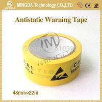 FREE SHIPPING ESD warning tape,ESD floor marking tape,Antistatic Warning Tape,esd caution tape