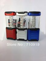 T20657a  12  LED Flash Light Adjustable  Multi Color Grey/blue/red  Mini LED Camping  light  Outdoor Hunting Light