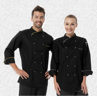 FREE SHIPPING Cook suit working coat chef jacket  long-sleeve cook coat restaurant coat hotel jacket