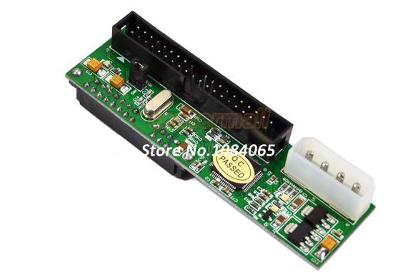 """Drop Shipping New 2.5""""/3.5"""" Drive SATA to ATA IDE Converter Adapter Card 250(China (Mainland))"""