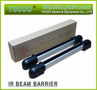 Photoelectric Beam Detector 2 Beams Active Infrared Detector Alarm Burglar Dectector Perimeter Sensor