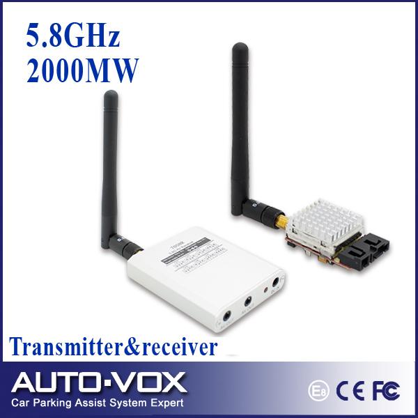 Запчасти и Аксессуары для радиоуправляемых игрушек Auto-Vox AV 5,8 TX RX FPV 2000mW WTF-TR582A 2000mw laser