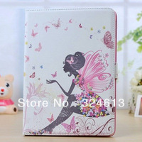 Magnetic Smart cover case For Apple iPad Air cases Stand cute girl Leather Case Smart Cover Case
