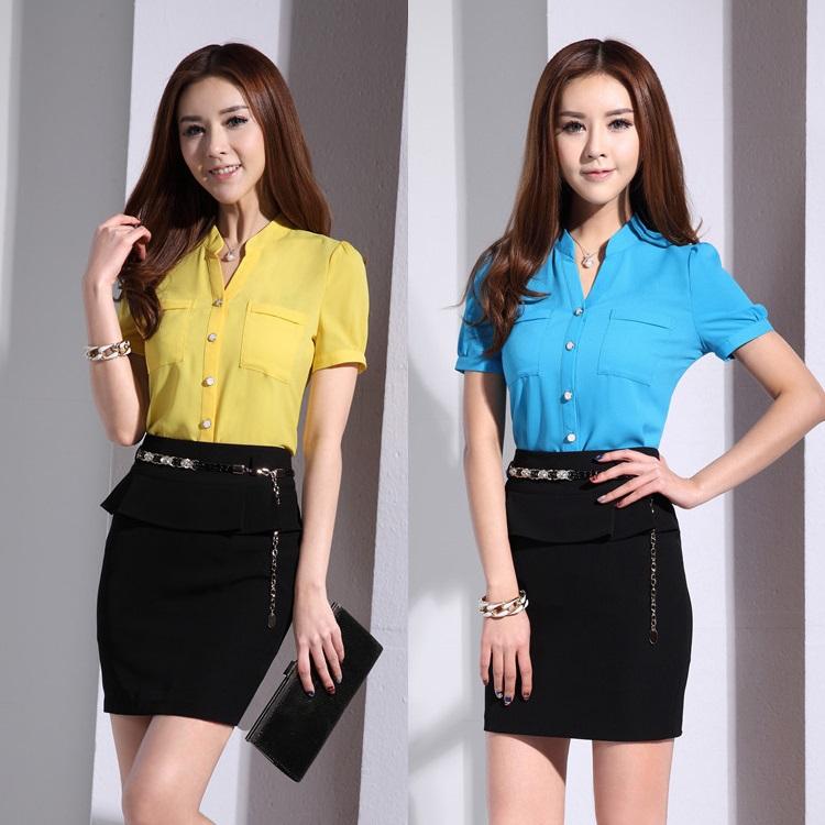 online kaufen gro handel office work uniforms aus china. Black Bedroom Furniture Sets. Home Design Ideas