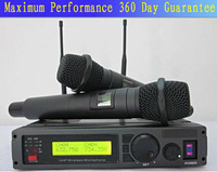 Free shipping  ULX-28 Professional wireless microphone double Handheld microphone system Best quality