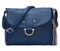 Small smile bag with Fringe Fashion women messenger bags Cross body Handbags Shoulder Bag for woman 3 colors
