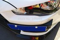 MITSUBISHI Lancer EX EVO license bracket frame card holder  Side license plate 1 pc/set